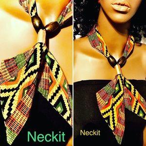 Handmade African Kente Print Scarf